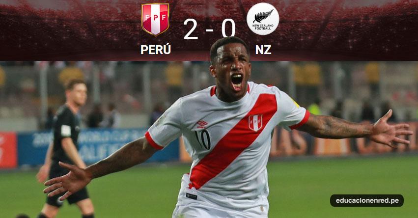 Con estos goles Perú está en Rusia 2018 [VIDEO] Perú 2 - 0 Nueva Zelanda