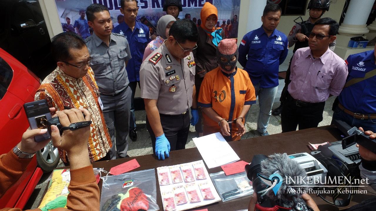 Edarkan Uang Palsu di Kebumen, Janda Asal Jakarta ini Terancam 10 Tahun Penjara