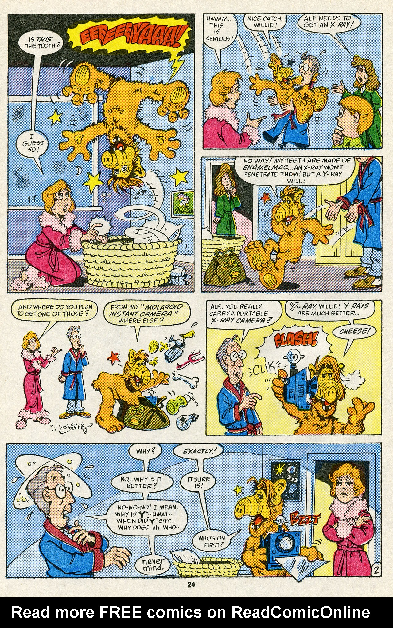 Read online ALF comic -  Issue #14 - 26