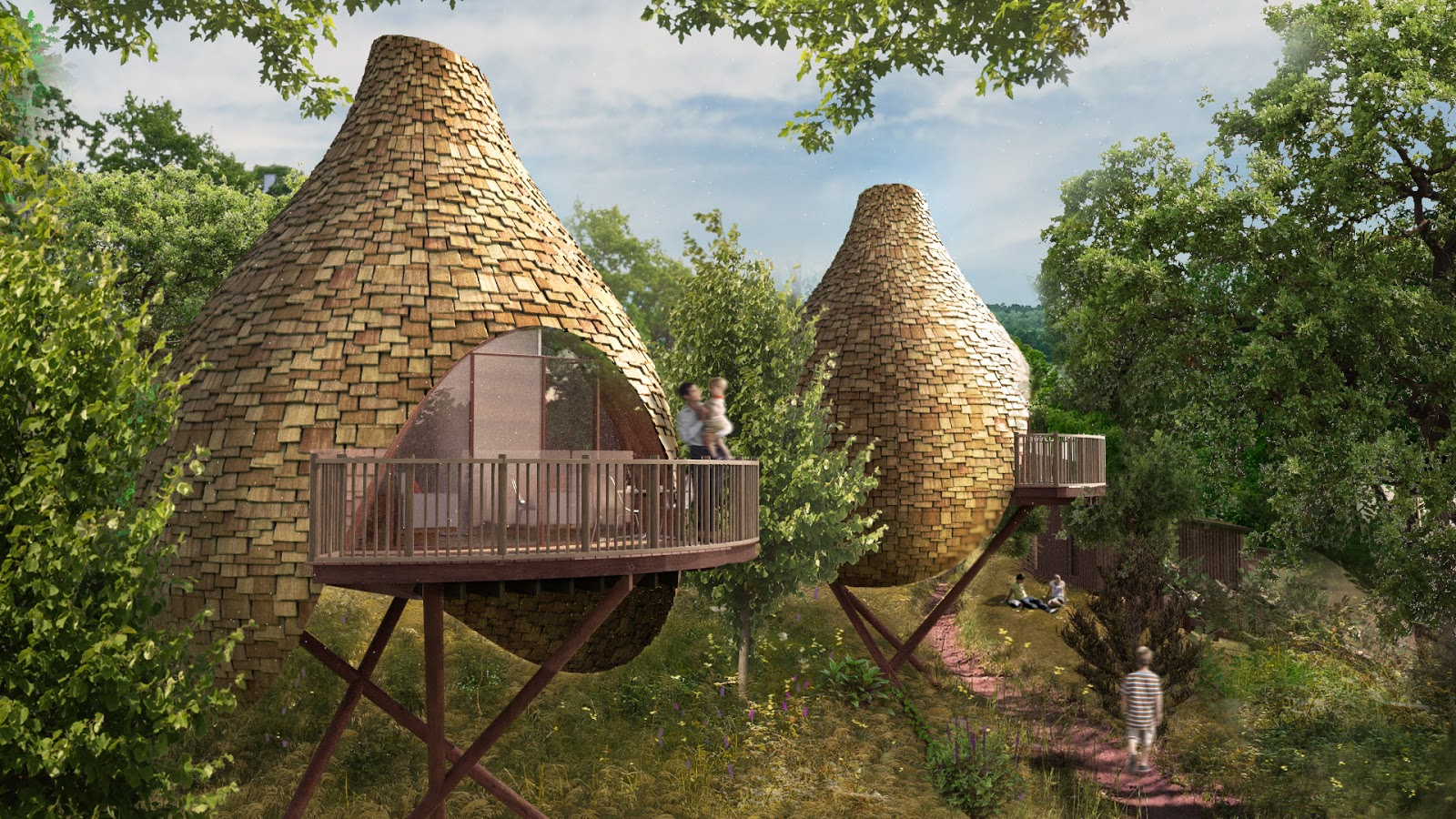 Henley Homes Floor Plans Shedworking Major Treehouse Development On Isle Of Wight