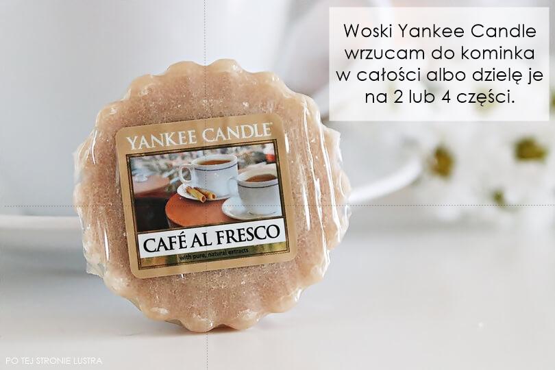 jak używać wosków yankee candle
