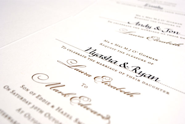 Formal Wording For Wedding Invitations: The Woods On Ninth: 7 Tips For Wording Formal Wedding