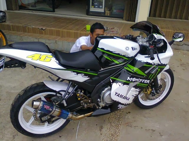 20+ Gambar Modifikasi Yamaha New Vixion Terbaru 2014 Super