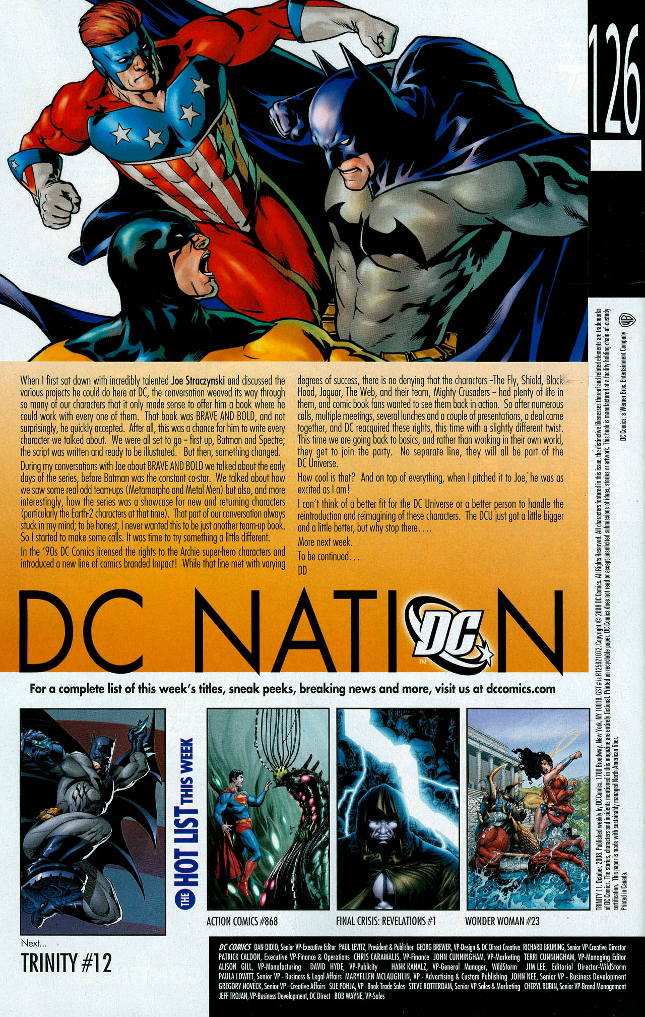 Read online Trinity (2008) comic -  Issue #11 - 33