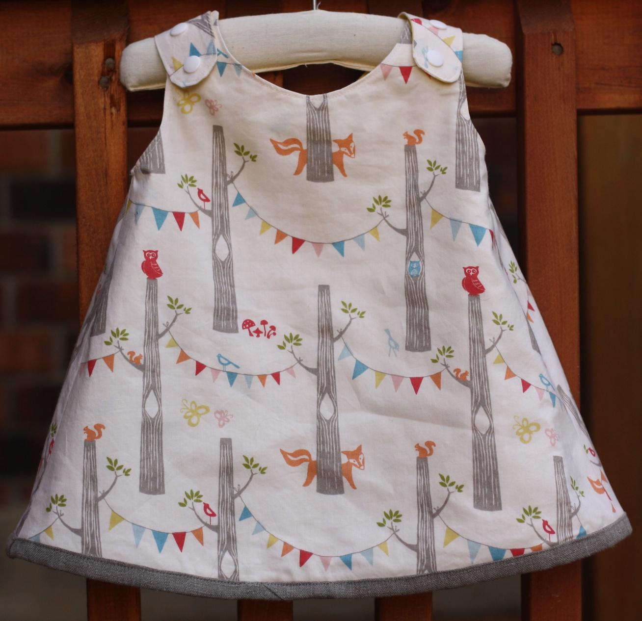 Stitched Together Serena Baby Dress