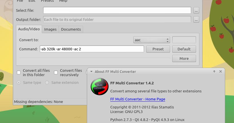 Ubuntu Buzz !: FF Multi Converter: GUI Application to