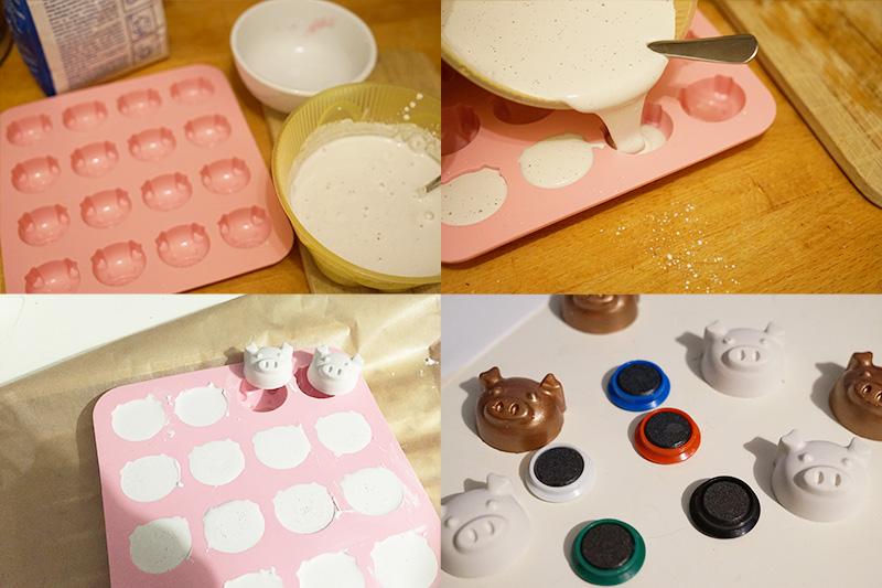 KuneCoco • DIY • Kühlschrankmagnete • Tutorial