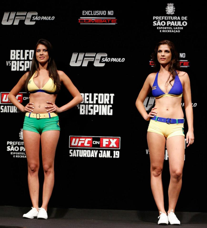 The Thing About The Brazil Cards Is The Great Camel Toe From The Ring Girls