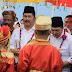 Massa Membludak, Pengukuhan Tim Modis Gunung Tujuh