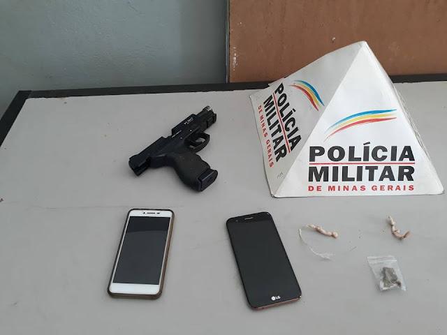 Homem rouba Motocicleta e é capturado pela Polícia em Santa Luzia