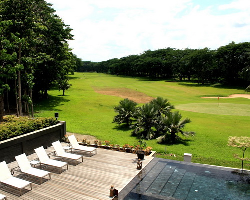 Tinuku.com MINT-DS studio design Djati Lounge & Djoglo Bungalow Malang in luxury ethnography Javanese and golf course