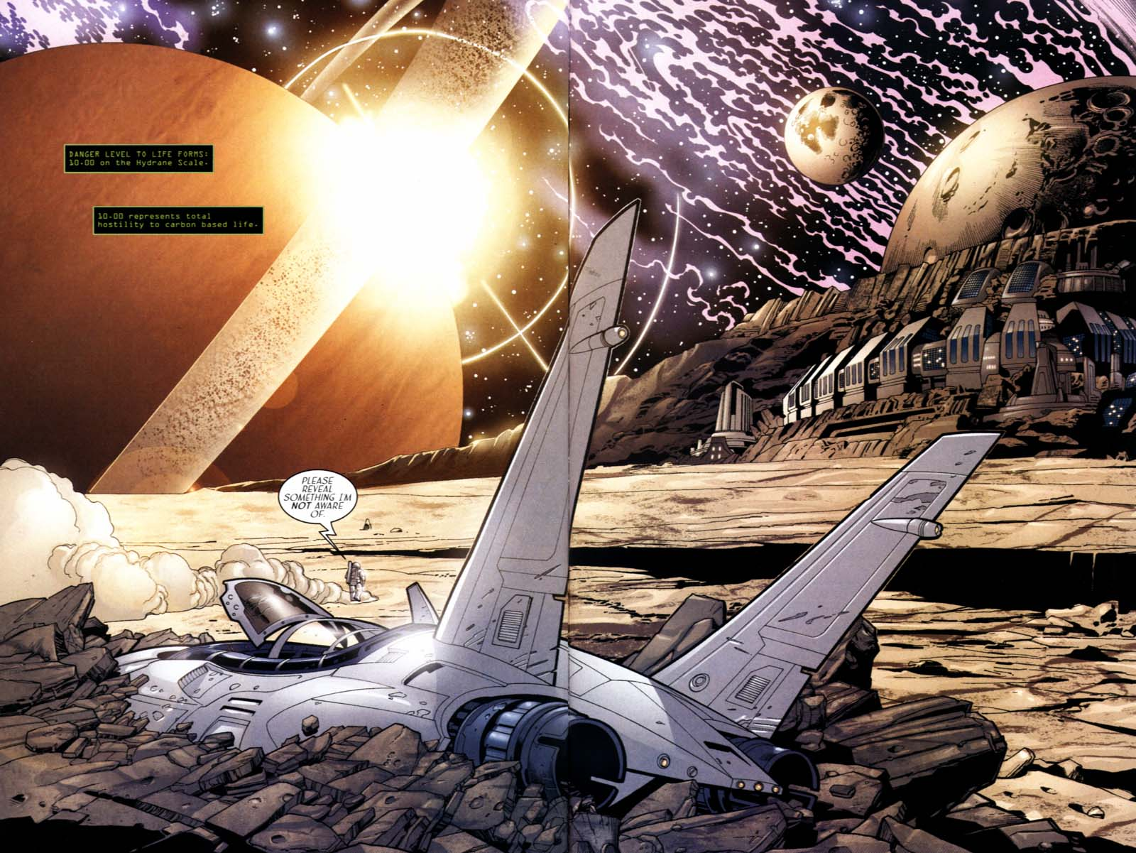Read online Sigil (2000) comic -  Issue #21 - 6
