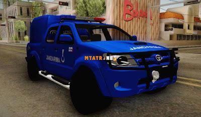 Toyota Hilux Jandarma