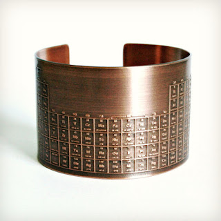 seventh anniversary copper jewelry bracelet