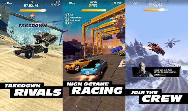 Download Fast & Furious Takedown MOD APK cho Android