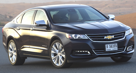 2019 Chevrolet Impala Review