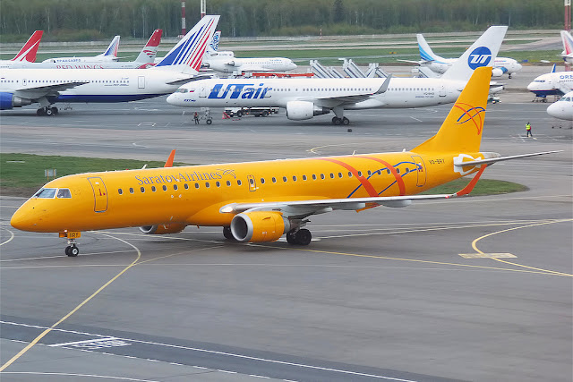 Embraer E190 Saratov Airlines