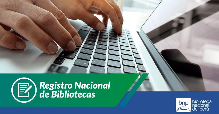 BNP lanzó el Registro Nacional de Bibliotecas - www.bnp.gob.pe