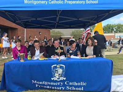 Montgomery Catholic 2017 Groundbreaking Event 2