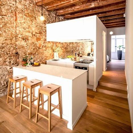 Decoraci n interior al estilo rustico moderno arquitexs for Rustico moderno