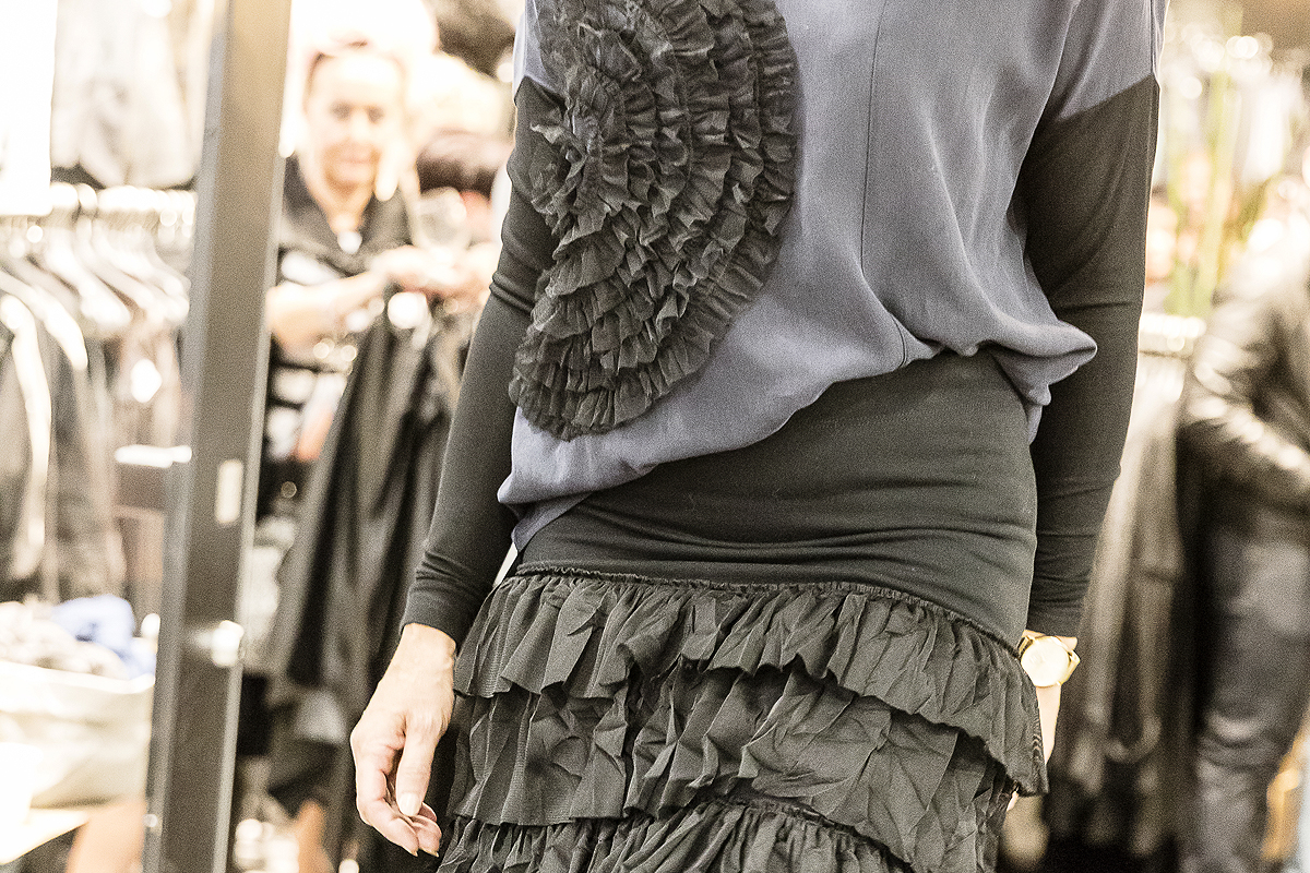 Lili, Lifestyle, muoti, Tampere, fashion, Ratina, kauppakeskus, naisten muoti, rock, Visualaddict, Frida Steiner, valokuvaaja, muotinäytös, mallit, ootd, putiikki, vaateliike