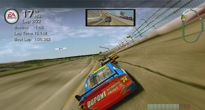 Picture of nascar 08.