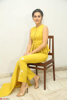 Taapsee Pannu looks mesmerizing in Yellow for her Telugu Movie Anando hma motion poster launch ~  Exclusive 042.JPG