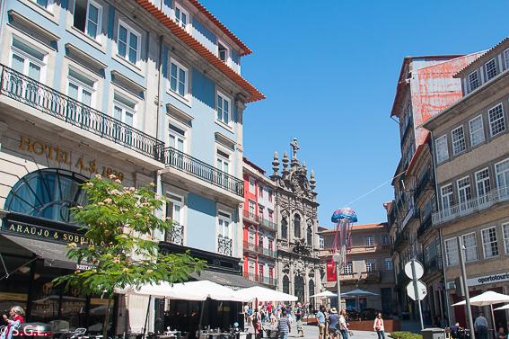 Que ver un dia en Oporto. Rua das Flores