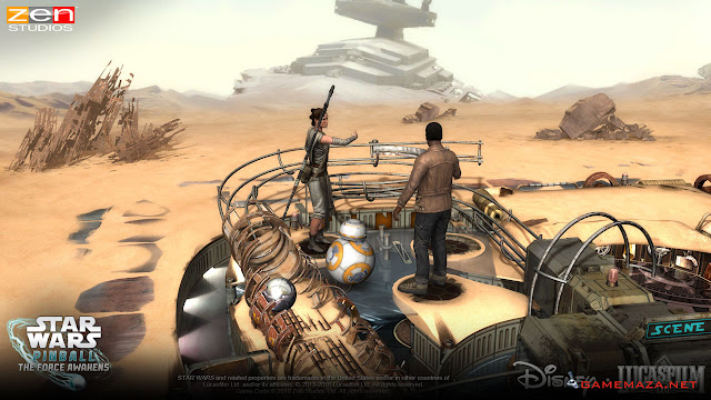 Star Wars Pinball The Force Awakens Gameplay Screenshot 3