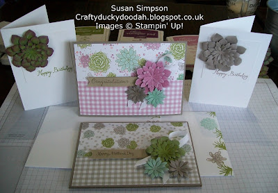 Stampin' Up! Susan Simpson UK Independent Stampin' Up! Demonstrator, Craftyduckydoodah!, Oh So Succulent, Coffee & Cards project March 2017, Supplies available 24/7,