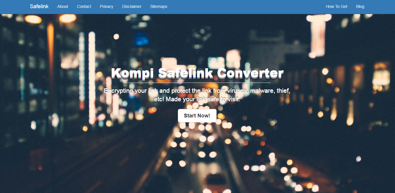 Template blog safelink converter terbaik