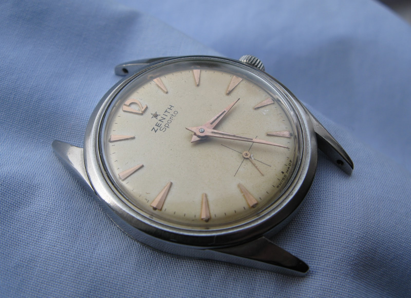 Andy B Vintage Watches: FOR SALE - Early 1960's Zenith ...