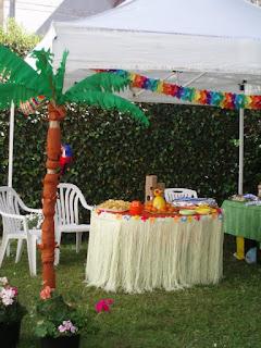 festa compleanno tema Hawai