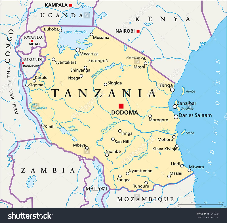 The Inside Tanzania Discover DODOMA Tanzanias Next Mega City - Where is tanzania located