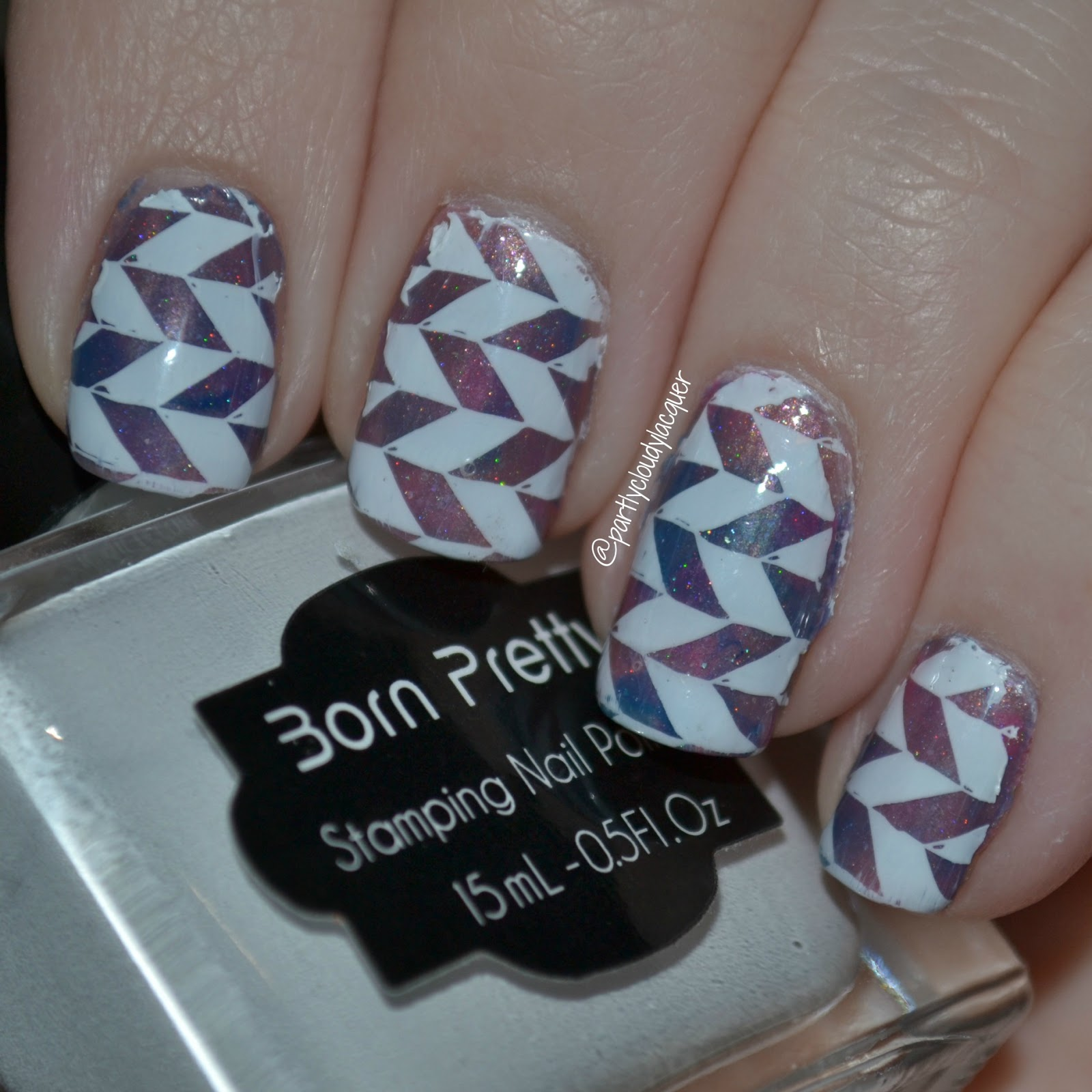 Pastel Squishy Mani using Zombie Claw Polish | Partly Cloudy With a ...