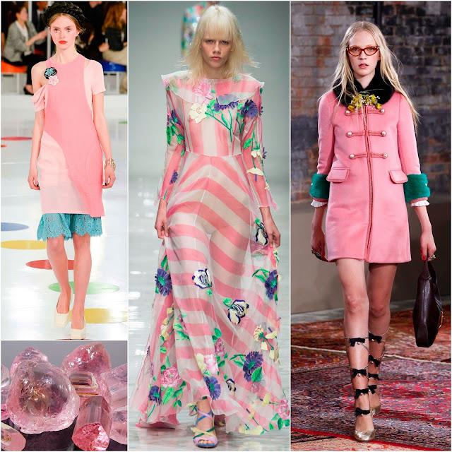 модные цвета сезона весна лето 2016
