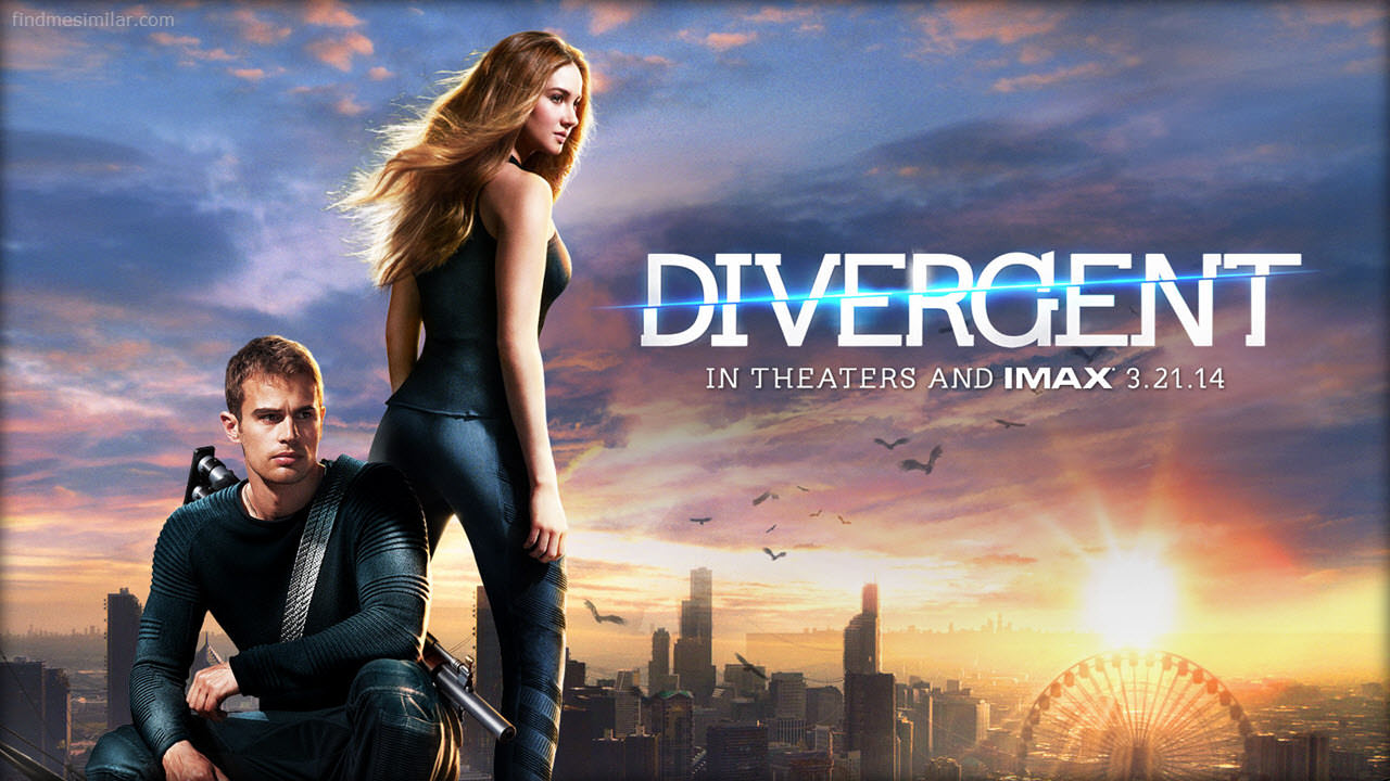 Movies Like Vampire Academy: Divergent (2014)
