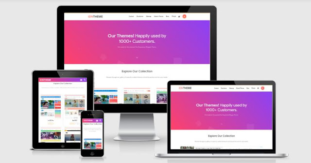 IDN Theme Blogger Template Free Download