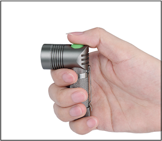 Super MINI Flashlight Angle Shape Design