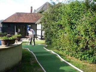 Pub Beer Garden Miniature Golf