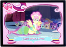 "My Little Pony ""I hate being a model."" Trading Cards"