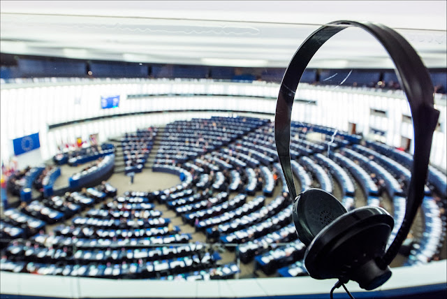 Plenary Session in European Union Parliament, Strasbourg – Creative Commons