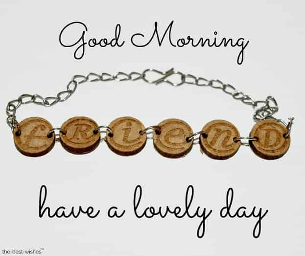 good morning friends have a lovely day
