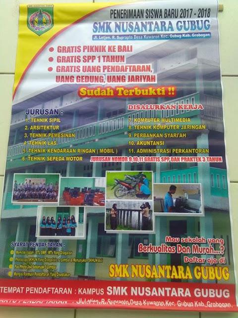 PPDB SMK Nusantara Gubug