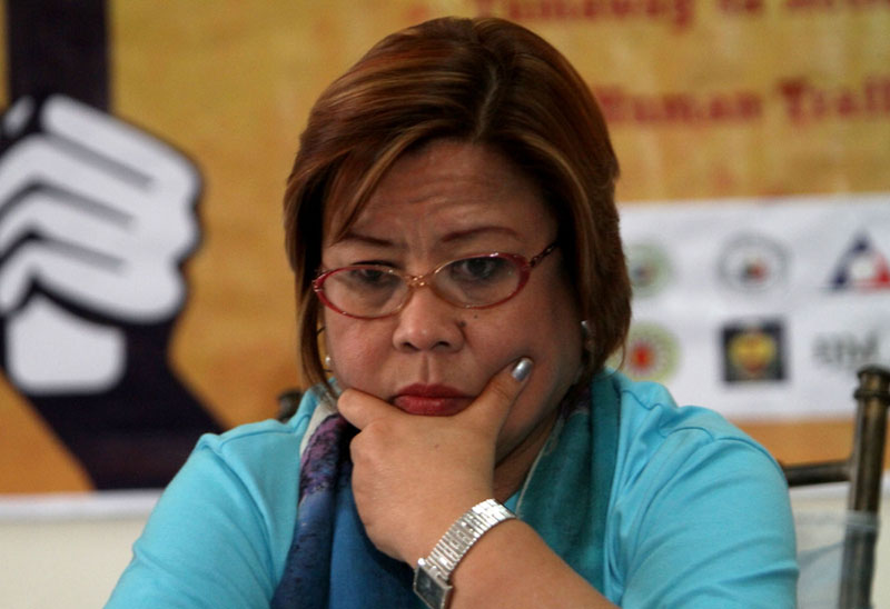 De Lima disagrees with Duterte and Poe's stand about Death Penalty