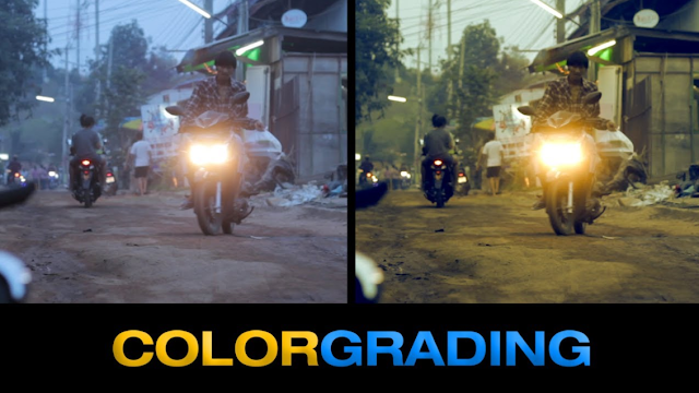 Free Download Preset Color Grading Cinematic for After Effects