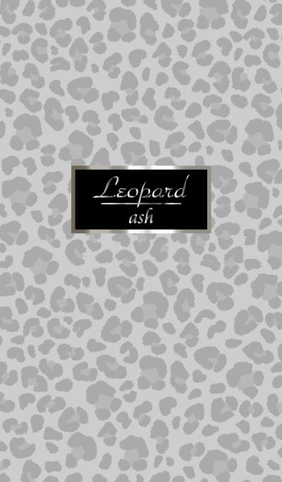 Leopard pattern Ash gray WV