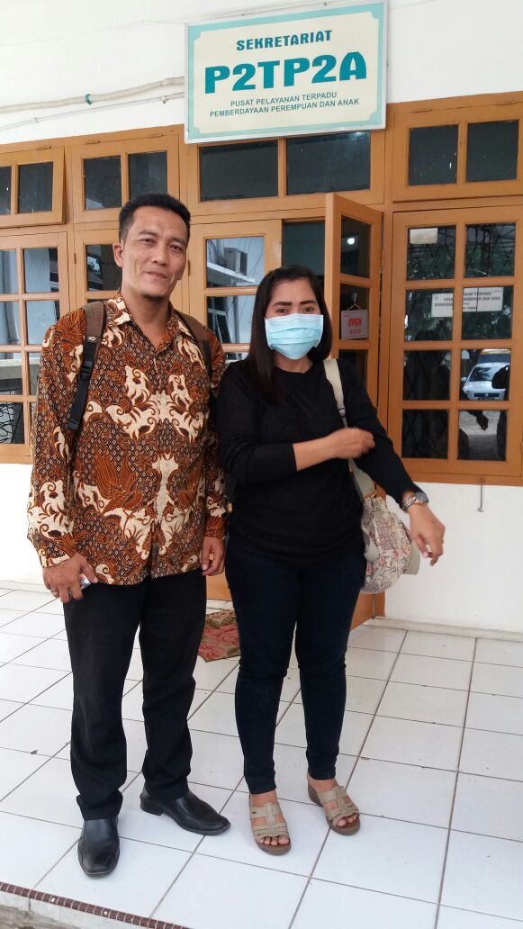 Kasus Pemukulan Eko CE Terhadap Jamila Akhirnya Berujung Damai