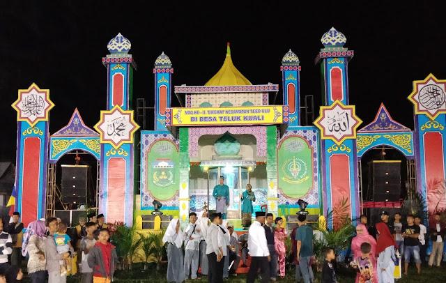 Bupati Tebo H. Sukandar Resmi Buka MTQ KE-II Tingkat Kecamatan Tebo Ulu