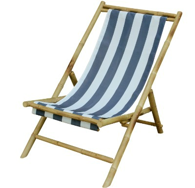 Striped Sling Chair
